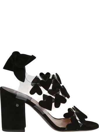 Laurence Dacade Heart Applique Sandals
