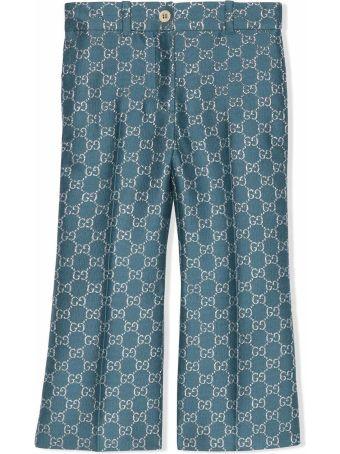 Gucci Gg Lamé Trousers