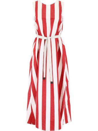 Max Mara Studio Striped Boccale Dress