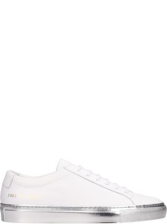 Common Projects Achilles Low White Leather Sneakers