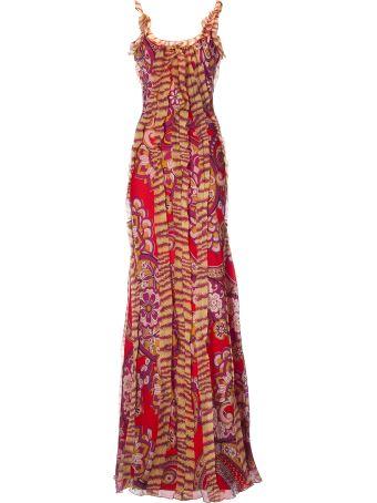 Etro Floral Printed Maxi Dress