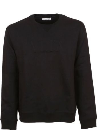 Valentino Logo Embossed Sweatshirt