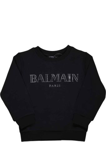 Balmain Black Sweatshirt Baby
