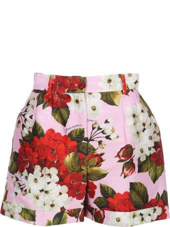 Dolce & Gabbana Dolce&gabbana Floral Print Shorts