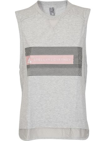 Adidas by Stella McCartney Mesh Panel Tank Top