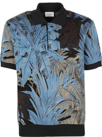 Salvatore Ferragamo Knit Polo Shirt