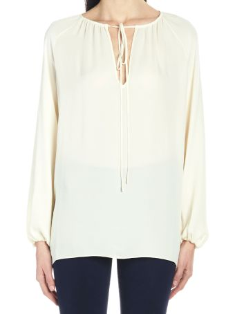 Theory 'gathered' Blouse