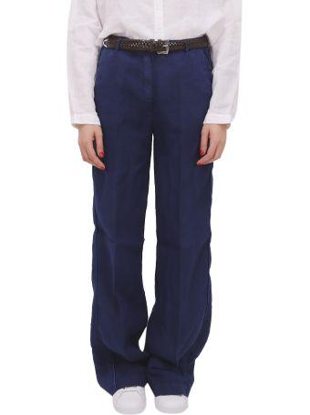 Massimo Alba Blue Lamna Trousers