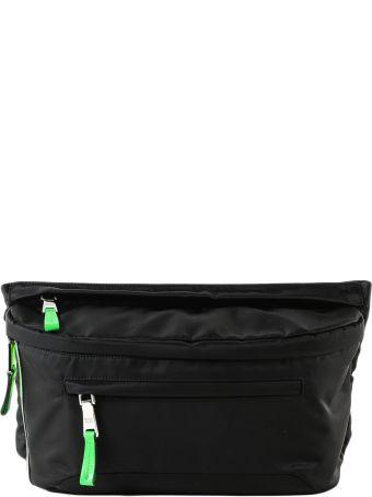 Prada Logo Patch Belt Bag