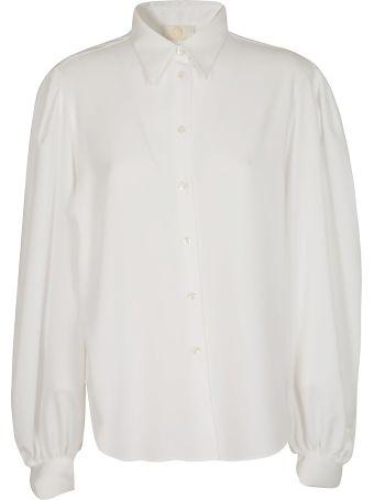 Sara Battaglia Oversized Shirt