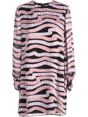 Emporio Armani Flared Oversize Dress