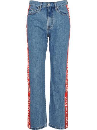 Calvin Klein Jeans High Rise Straight