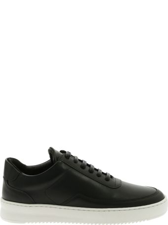 Filling Pieces Sneaker Leather Low Mondo Ripple