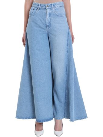Y/Project Blue Skirt Jeans