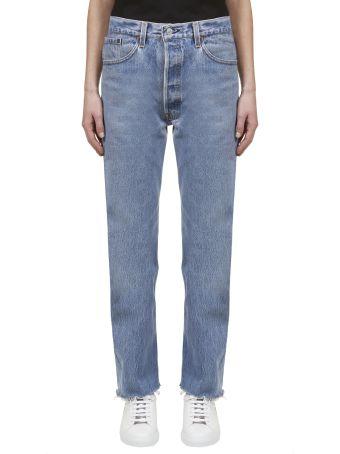 RE/DONE Faded Boyfriend Jeans