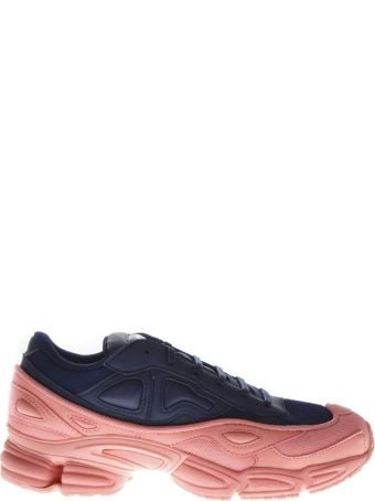 Adidas By Raf Simons Rs Ozweego Sneakers In Blue & Pink Leather
