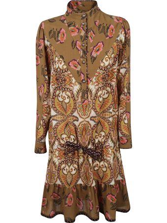 Sherri Hill Plunging V-neck Dress