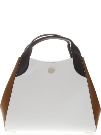 Marc Ellis Isla Bag In Black White And Sand Leather