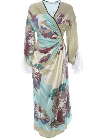 Act n.1 Landscape Longuette Dress
