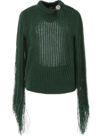 Calvin Klein Fringed Knit