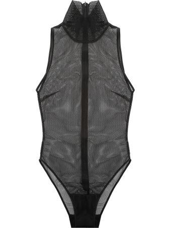 Vatanika Design High-beck Mesh Bodysuit