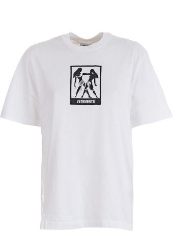 VETEMENTS Horoscope T-shirt