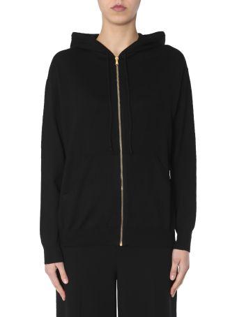 Moschino Sweatshirt With Zip And Hood