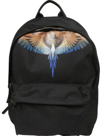 Marcelo Burlon Wings Print Backpack