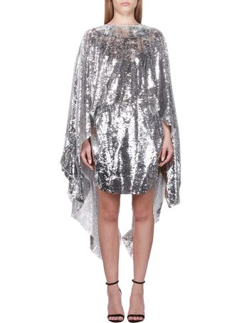 Paula Knorr Sequined Asymmetric Dress