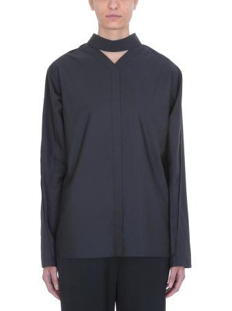 Jil Sander Charcoal Cotton Shirt