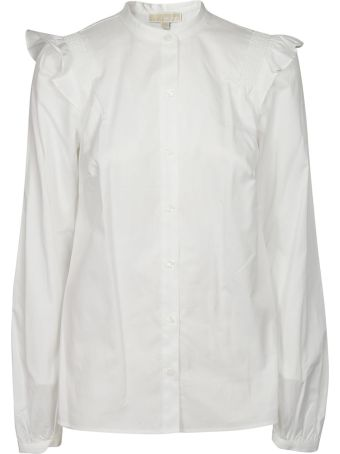 Michael Kors Ruffle Trim Shirt