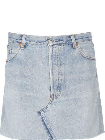 RE/DONE Levis X Redigo Skirt