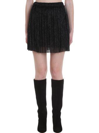 Isabel Marant Étoile Benedicte Skirt In Black Polyester