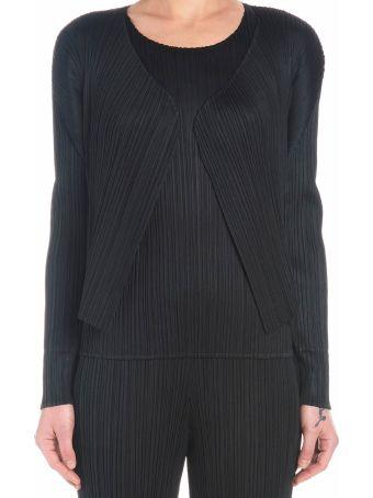 Pleats Please Issey Miyake 'basic' Cardigan
