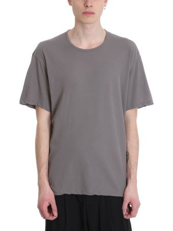 Attachment Grey Cotton T-shirt