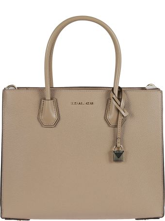 Michael Kors Mercer Pebbled Tote