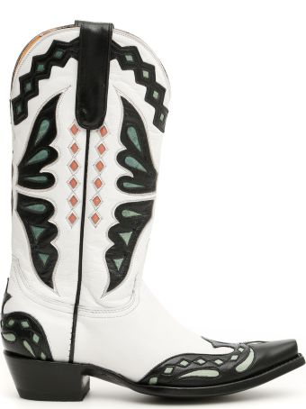 Jessie Western Butterfly Cowboy Boots