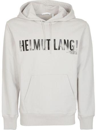 Helmut Lang Printed Logo Hoodie