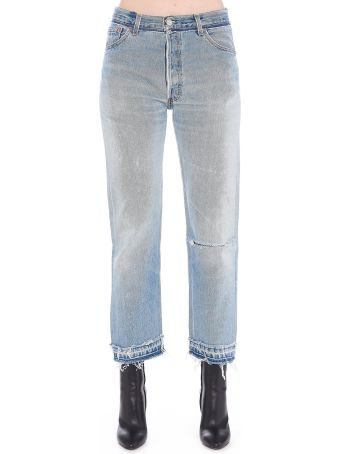 RE/DONE 'stone Pipe' Jeans