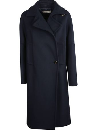 SportMax Off-centre Button Coat