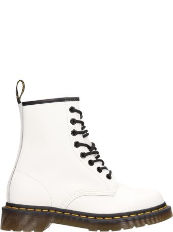 Dr. Martens 1460 White Leather Boots