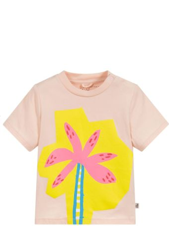 Stella McCartney Kids Pink Newborn T-shirt