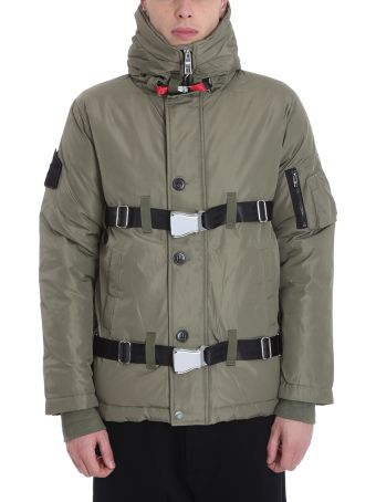 The New Designers Green Nylon Aircraft Down Jacket