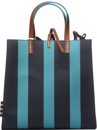 Manila Grace Manila Grace Felicia Stripes Bag