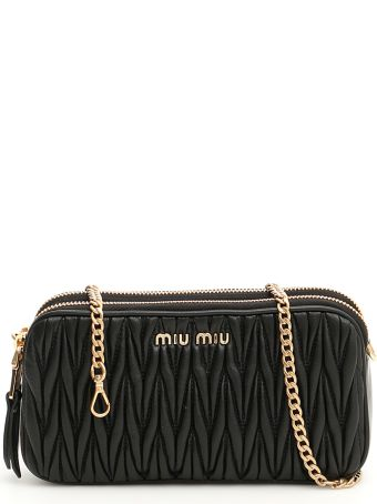 Miu Miu Matelassé Mini Bag