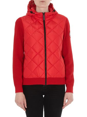 Canada Goose Hybridge Quilted Knit Hoodie