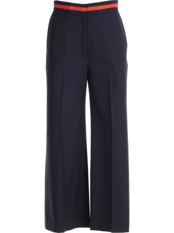 Paul Smith Cropped Flared Trousers