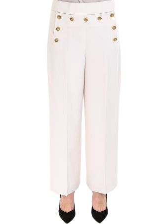 Tory Burch Cropped Sailor Pant Pants