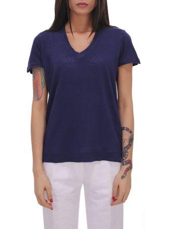 Massimo Alba Blue Flores T-shirt