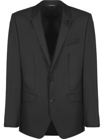 Dolce & Gabbana Textured Two Piece Suit